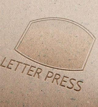 impression letter press
